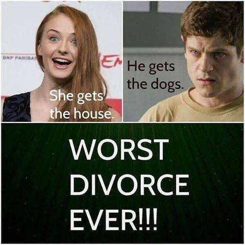 #dark #meme #gameofthrones ##memeoftheday #sansastark #ramseybolton #worst #divorce #ever