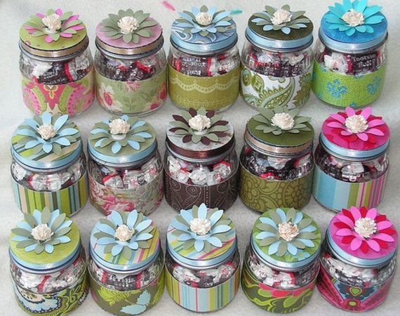 Simple Baby Shower Favors You Can Make Crayons Jar and Food jar