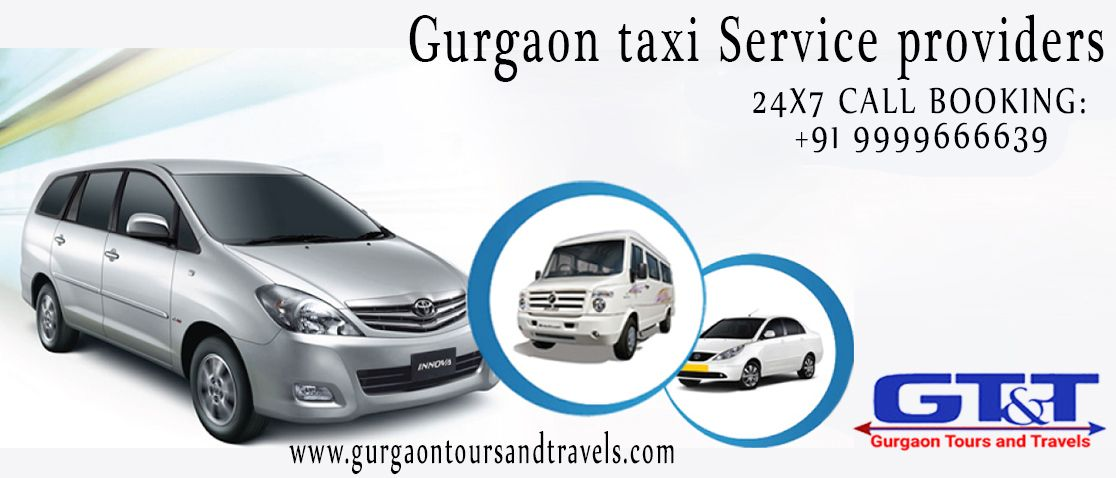 Gurgaon Tours & Travels provides online cab booking services