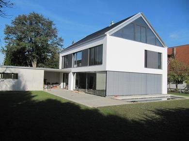 Satteldach Moderne Architektur moderne bauhausorientierung beton schlicht und wunderschön 建築