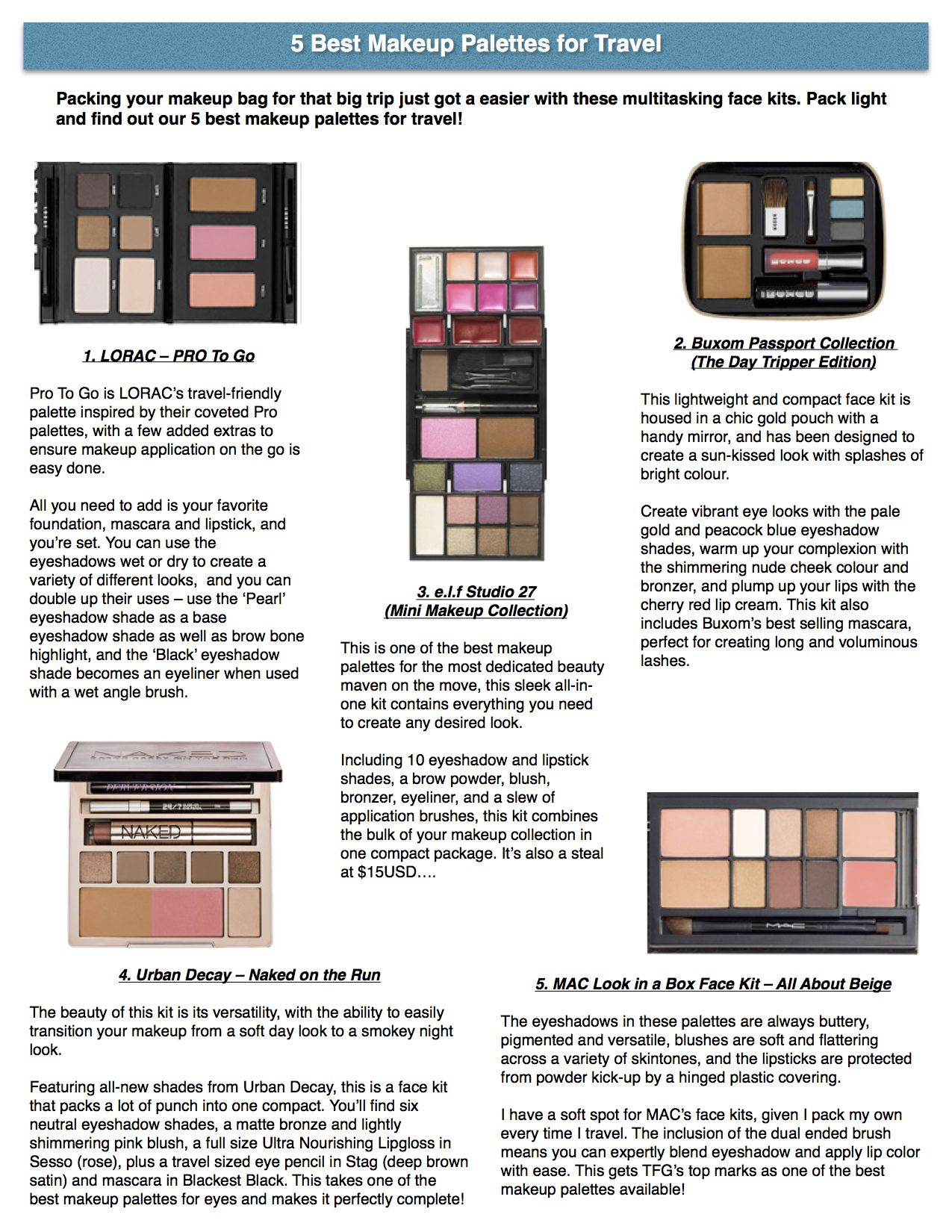 5 Best Makeup Palettes for Travel Makeup Storage Cart, Makeup Storage Containers, Makeup Jewellery