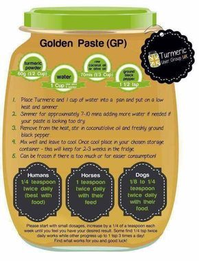 Golden Paste For Turmeric Tea Swank Note No Coconut Oil Allowed Raw Dog Food Recipes Coconut Oil For Dogs Turmeric Recipes