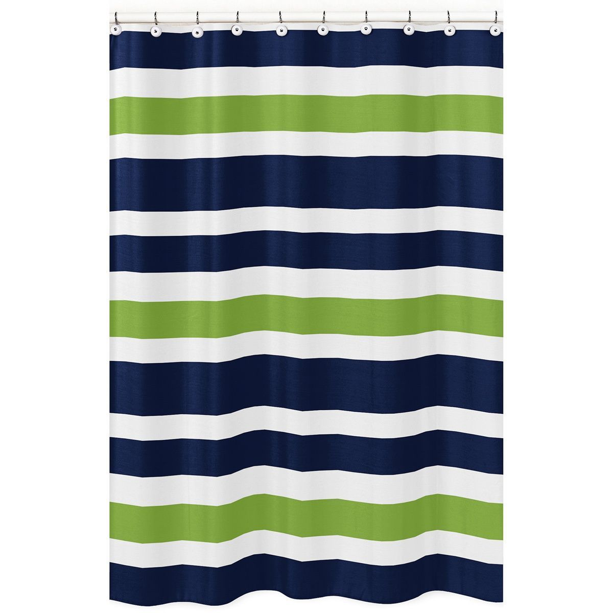 Create an easy bathroom makeover with this sweet jojo designs navy