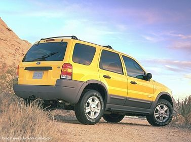 2001 Ford Escape Yellow Had Her Almost 14yrs And Still Traveling
