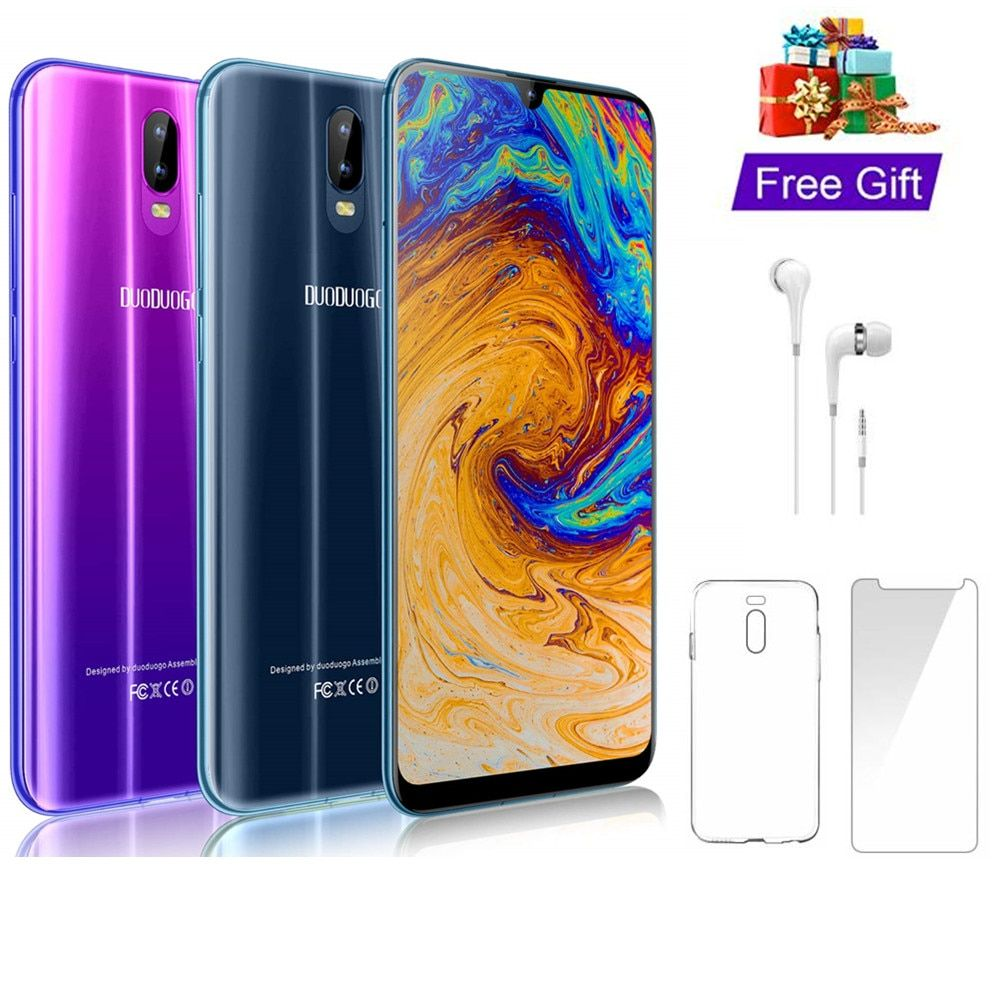 4G LTE 4GB+64GB DUODUOGO S10 Mobile Phone Android 8.1 6.26