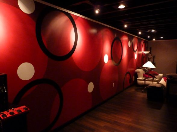 Club Basement Ideas Painting club lg  lisa & glenns nightclub in the basement! | basements i'd