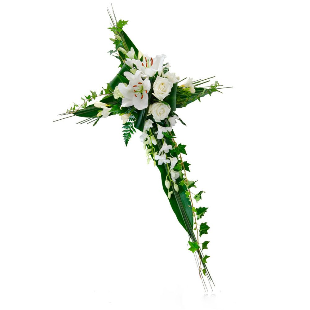 Cross wreath bing images wreaths floral pinterest wreaths funeral flowers plr articles with private label rights unique original and top quality funeral flowers private label rights articles izmirmasajfo Images