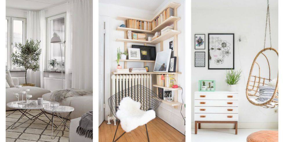 The 21 most awkward corners in any home and how to chic - How to decorate odd shaped living room ...