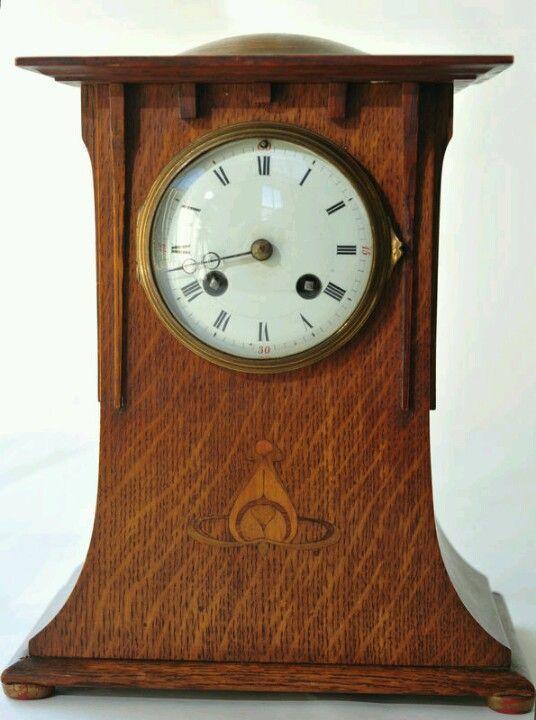 Arts Crafts Mantle Clock Craftsman Clocks Antique Clocks Arts Crafts Style