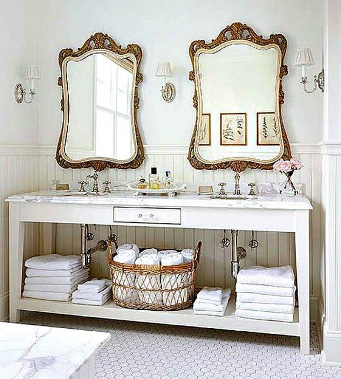 Deko Spiegel 10 Stilvolle Und Praktische Ideen Fur Ihr Zuhause Badezimmer Hutte Haus Deko Stil Badezimmer
