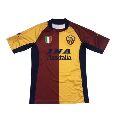 Roma Home 92 94 Retro Football Shirts Vintage Football Shirts Classic Football Shirts