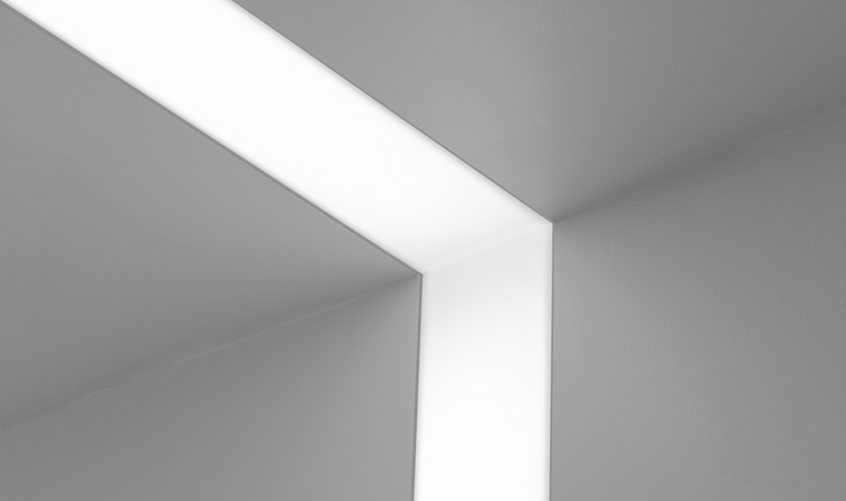 Seem 4 wall to ceiling corner narrow 4 aperture slot seem 4 wall to ceiling corner narrow 4 aperture slot fluorescent luminaire that transitions aloadofball Images
