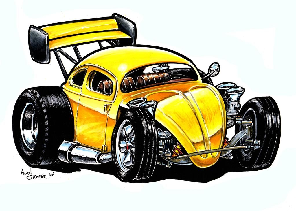 Badbeetle By Adstamper On Deviantart Art Cars Cars Coloring