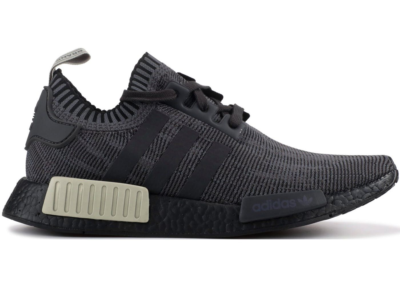 Check out the adidas NMD R1 Black Olive available on StockX
