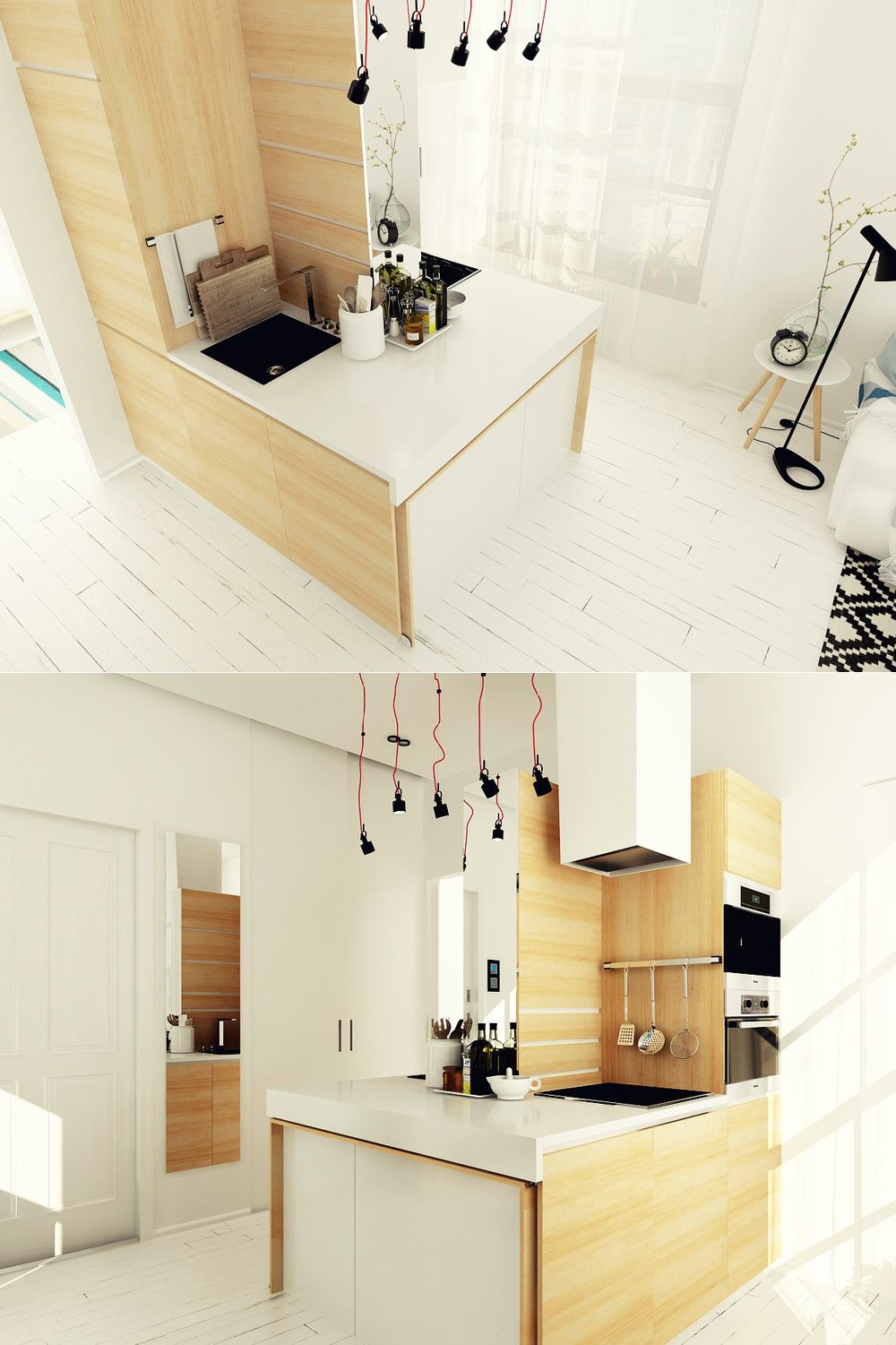Home Designing — (via Ultra Tiny Home Design: Kitchen) | Home is ...