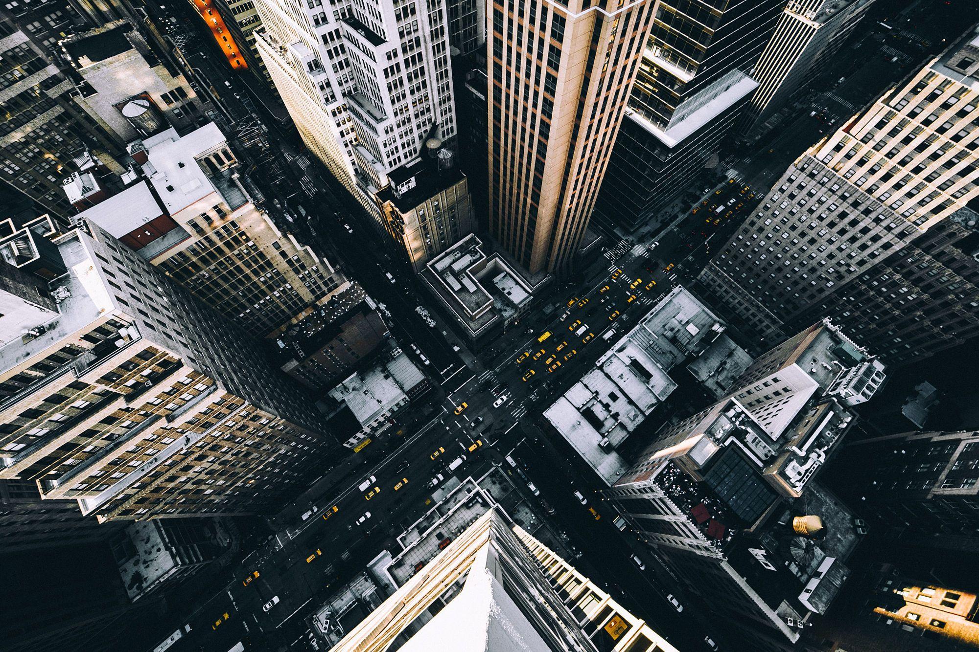 этом город вид с крыши фото фигуры больших