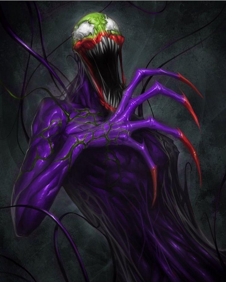 Carnage Vs Joker : carnage, joker, Review:, Spider-Man:, Spider-Verse, Strange, Harbors, Symbiotes, Marvel,, Comic, Villains,, Venom, Comics