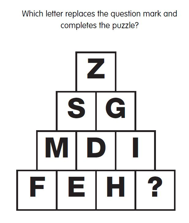 Iq Test Question 24 What Is The Missing Letter Answer Www Iqcatch Com Frontend Hom This Or That Questions Iq Test Questions Interview Questions And Answers
