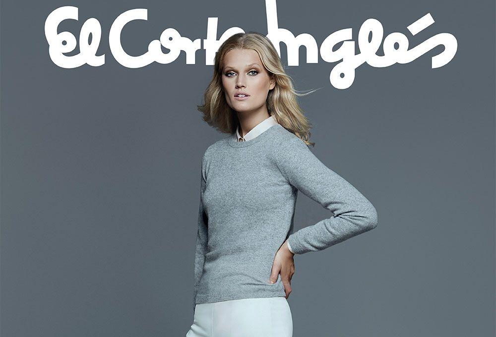 3dcc6823db1f Toni Garrn y el nuevo otoño de El Corte Inglés | Moda Ella | Toni ...