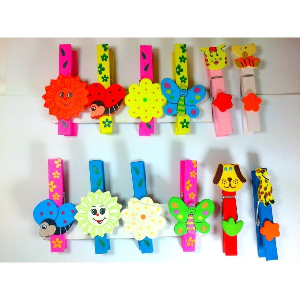 Broches de madera con iman infantiles ideal souvenir - Broches para manualidades ...