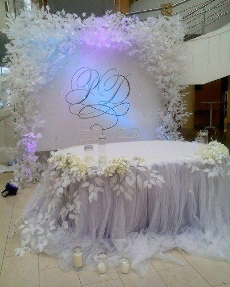 Wedding Reception Head Table Ideas: Weddings/Receptions. THE BIG DAY