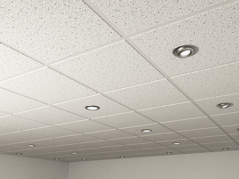 3d model realistic ceiling tiles spot - 3d Model Realistic Ceiling Tiles Spot Row Home Ideas Pinterest