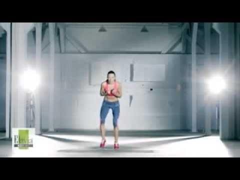 """Turbo spalanie"" Ewa Chodakowska. Very intensive training. These exercises are really effective."