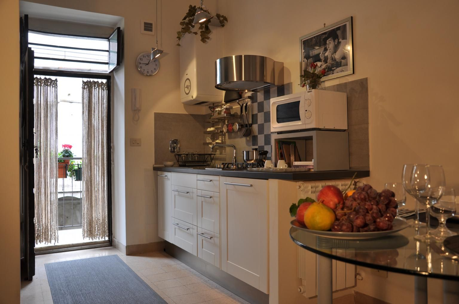 Our charming Totò Rome apartment: http://rentinrome.com/rome-apartment-toto.html