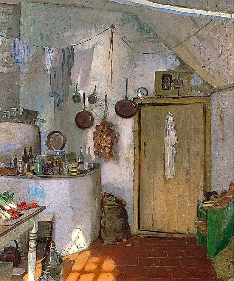 Edward Brian Seago, The White Kitchen