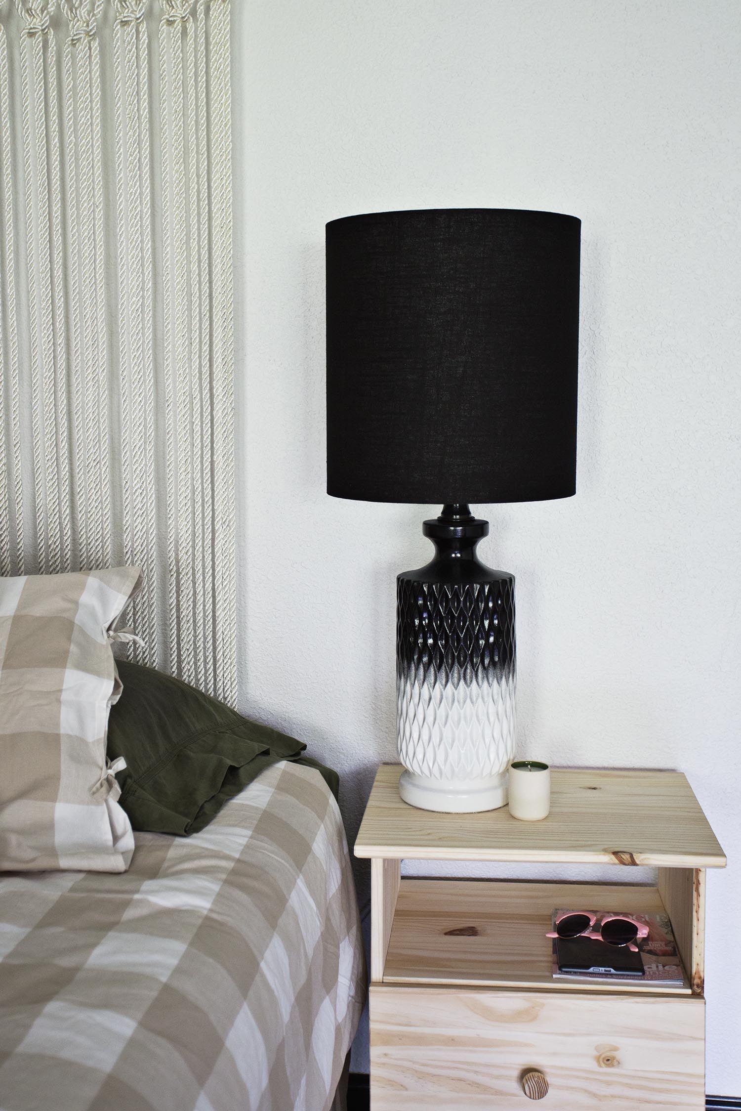 Project Restyle Bedside Lamps Lamp Makeover Bedside Lamp Decor
