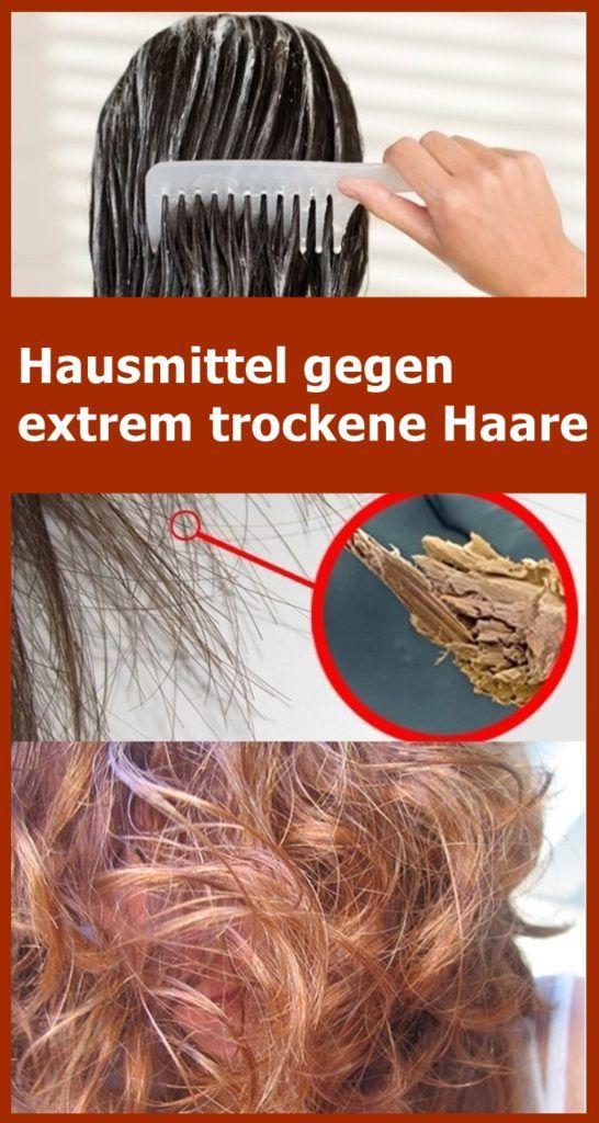 Hausmittel gegen extrem trockene Haare | njuskam! #skintreatments