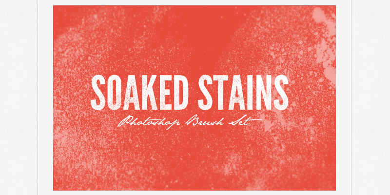 Soaked Stains Brush Pack ByPeople