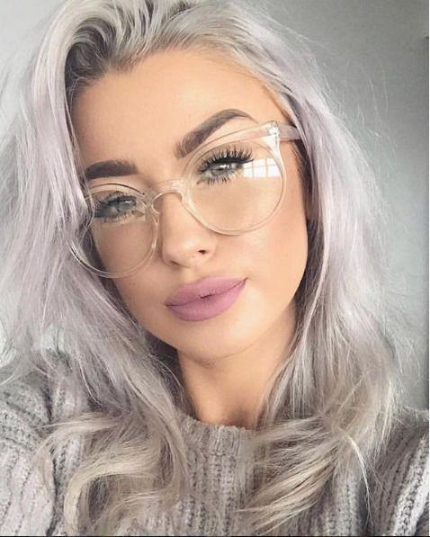 Details zu CRYSTAL Round Clear Brillen