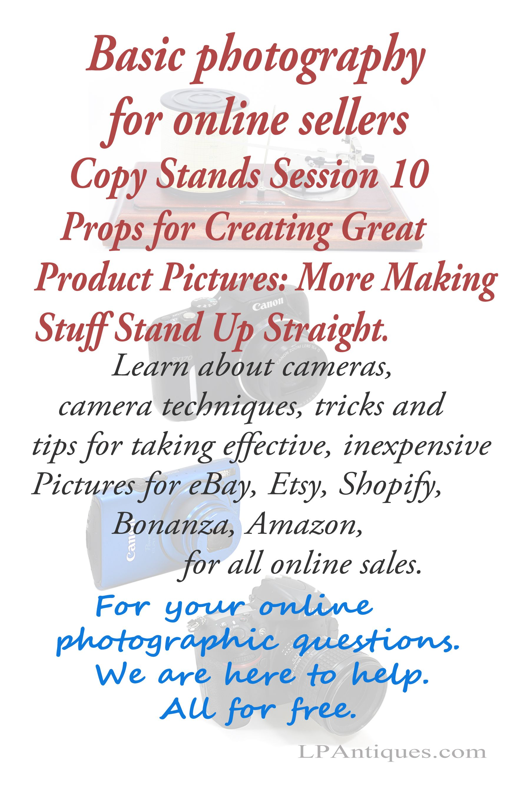 Basic Photography For Online Sellers Session 10 Props For