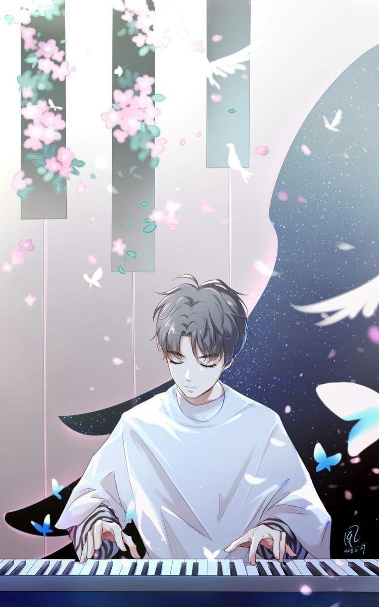 Pin By Dillarosli On Wallpaper Piano Anime Anime Anime Guys