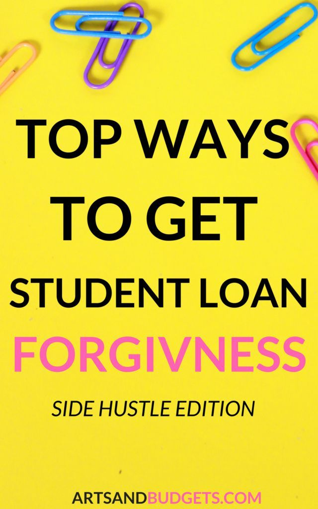 Top Ways To Pay Off Student Loan Debt Creative Ways To Pay Off