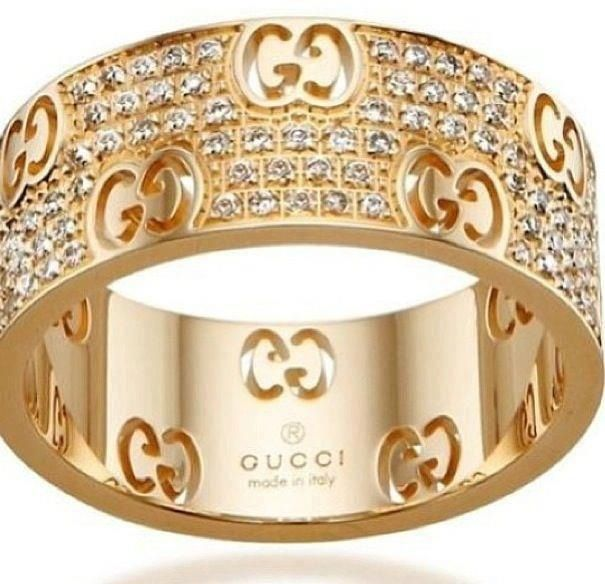 Gucci Icon bracelet in yellow gold and diamonds I6BVaY5as0