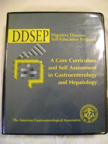 Ddsep Digestive Diseases Self Education Program aga Amer Gastroenterologic Assn | eBay