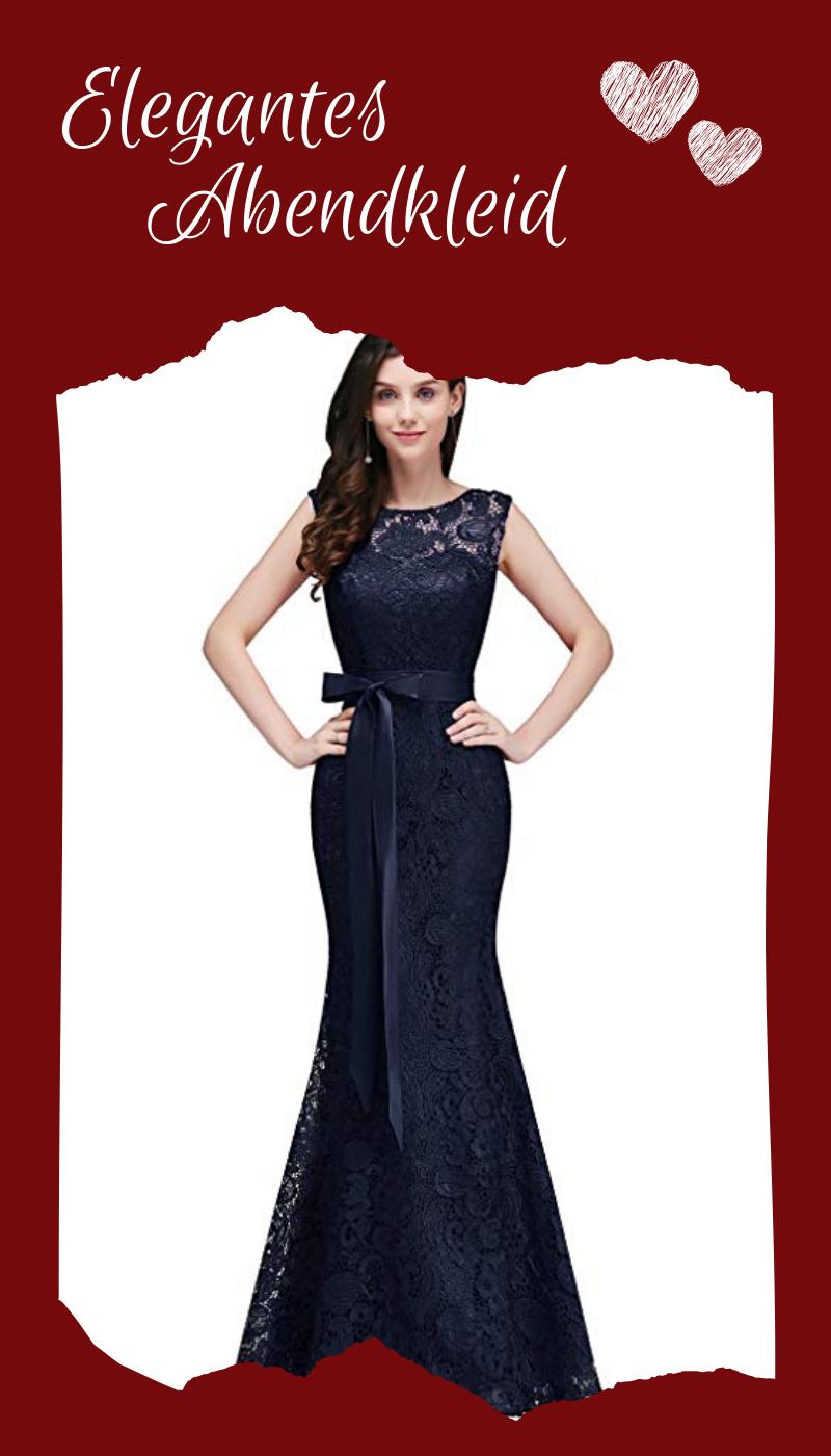 Elegantes Abendkleid Aus Spitze In Verschiedenen Farben Abendkleid Ballkleid Lang Brautjungfern Kleider