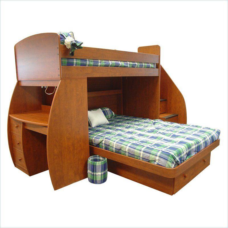Berg Furniture Sierra Space Saver Twin over