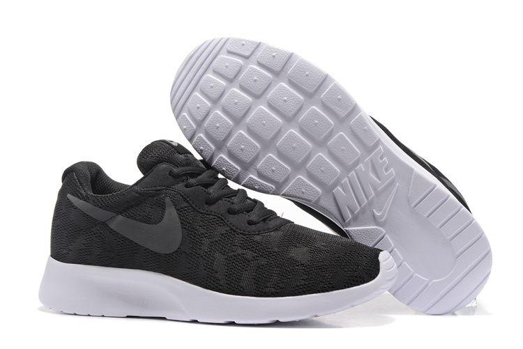 timeless design ac780 e9e00 Nike Tanjun Lace Black Grey Running Shoes   shoes i like   Shoes ...