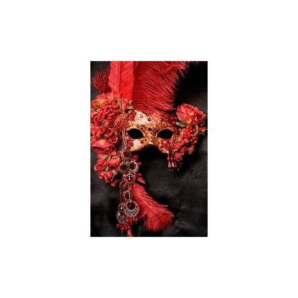 I want to go to a Midnight Masquerade ❤ liked on Polyvore featuring masks, accessories and backgrounds