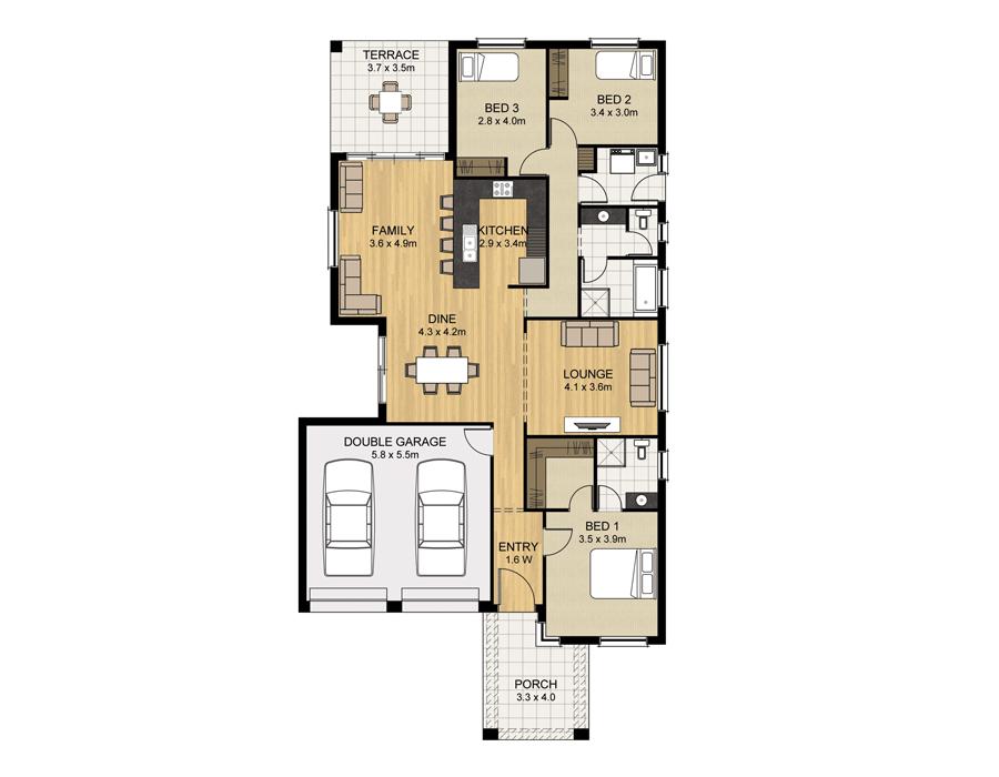 Norwood - Home Design - Sterling Homes - Home Builder Adelaide ...