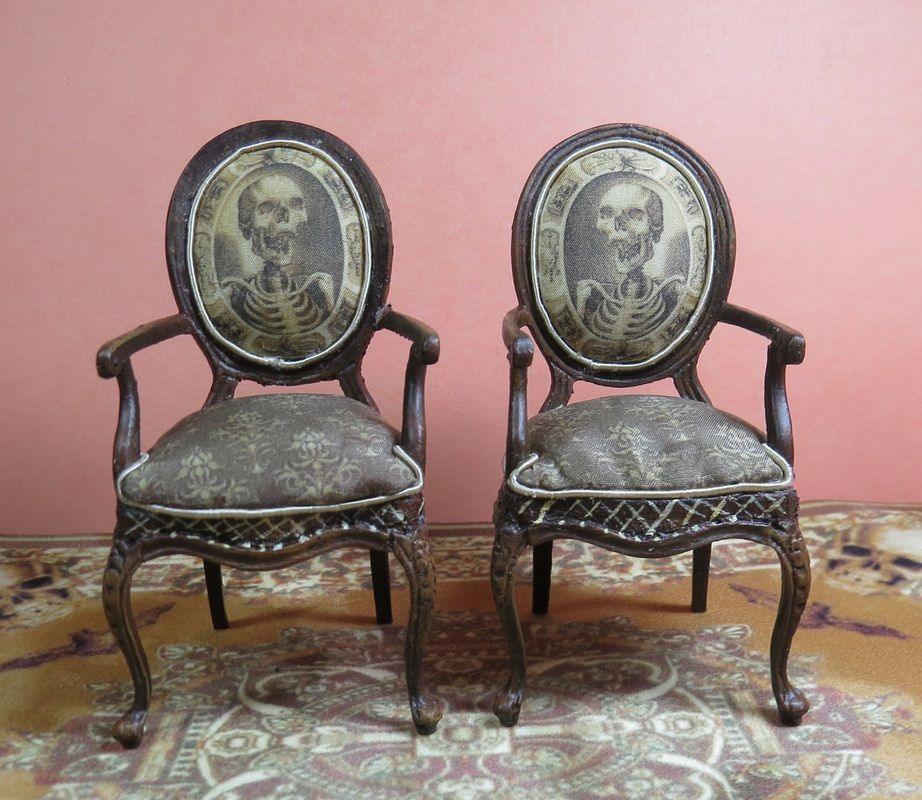 Spooky Chairs in Miniature by Patricia Paul