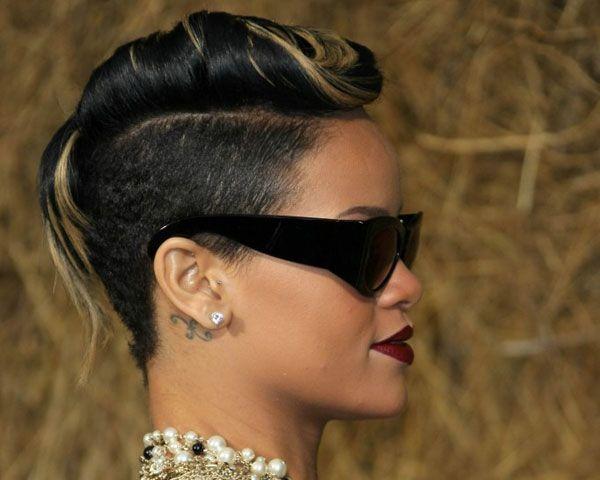 Hair Style , 6 Black Girls Mohawk Hairstyles : Semi Mohawk