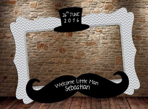 Little Man photo booth frame DIGITAL FILE Little Man by ...