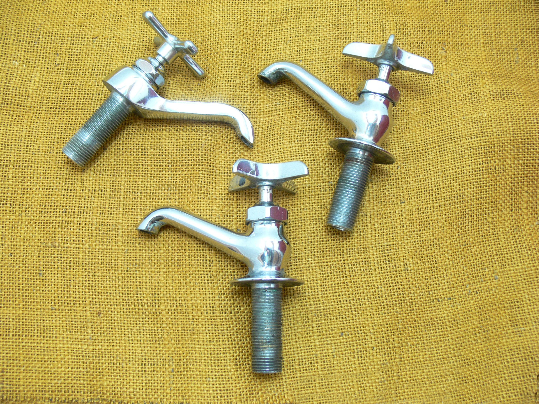 Vintage water faucet-old faucet lot-vintage valve faucets-old ...