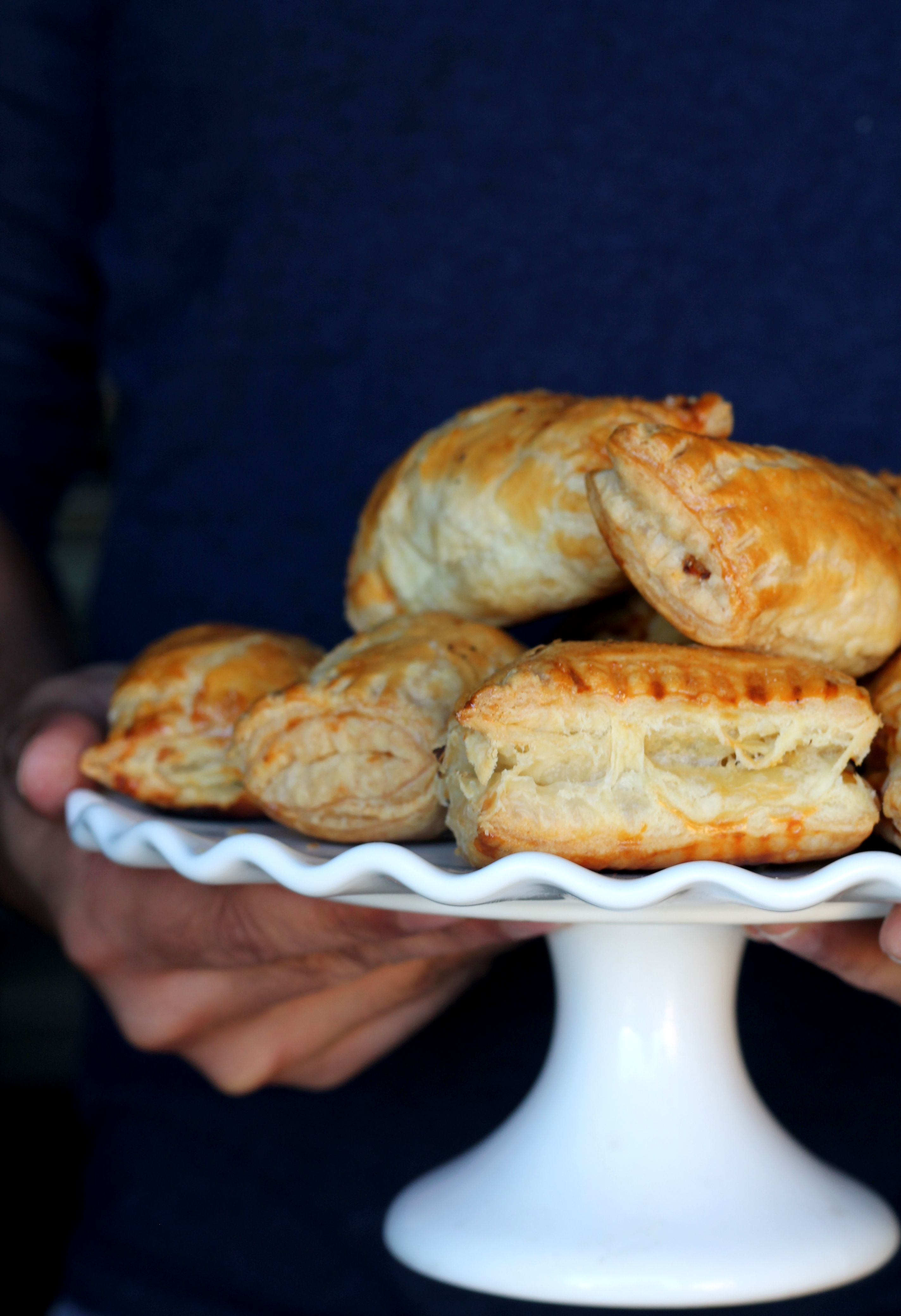 Puff pastry tubes: recipes and options for toppings 34