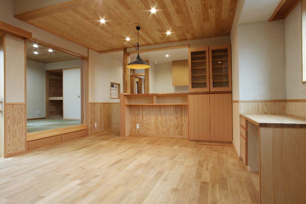 小さな平屋住宅 夫婦2人で住む床下エアコンで快適な我孫子市の木の家