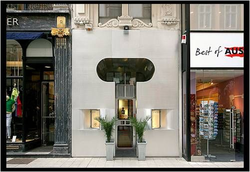 Shoplifter Figure Of Shop Front Retti Candle Store Vienna 1965 Arch Steven Holl Candle Store Architecture Construction